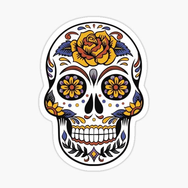 design crâne desperados Sticker