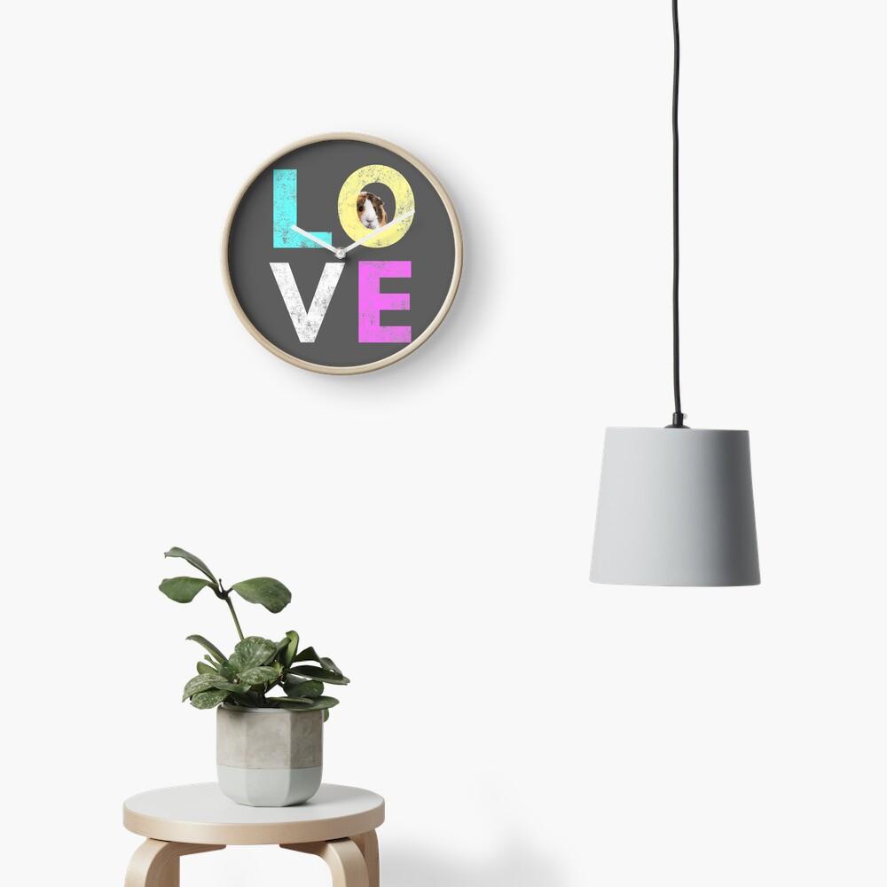 Funny & Cute Guinea Pig lover design Clock