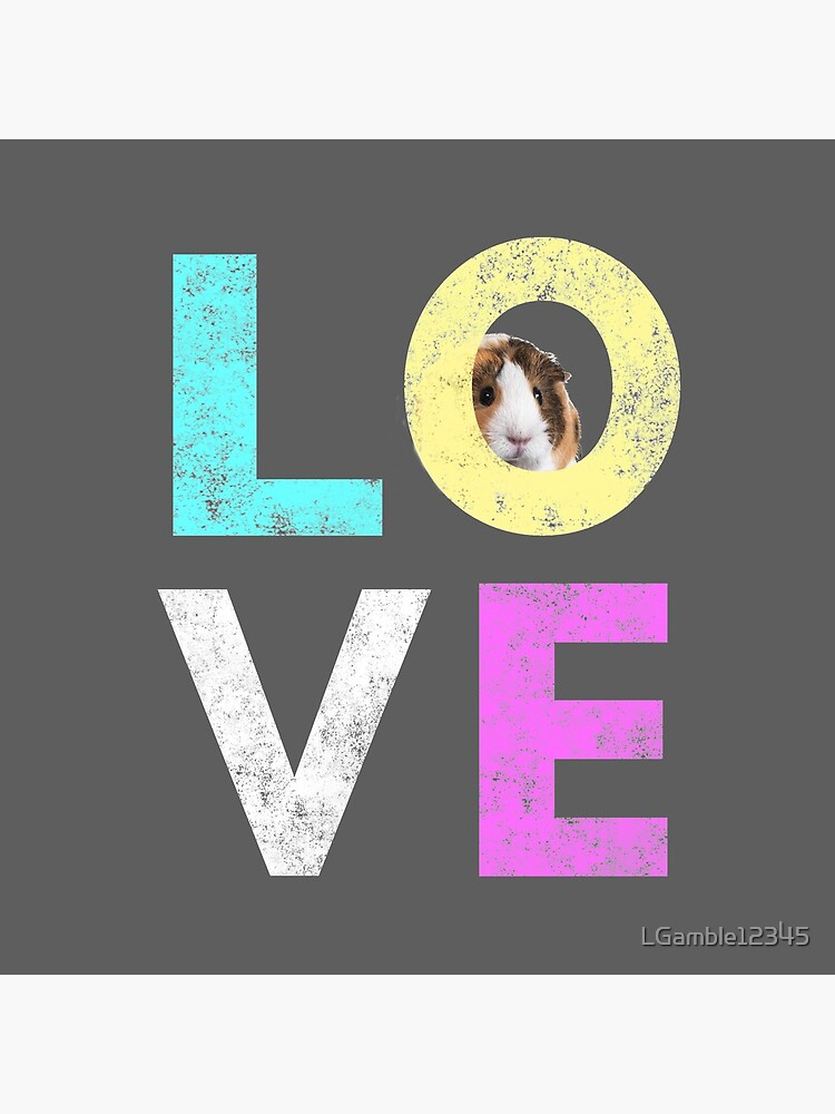 Funny & Cute Guinea Pig lover design by LGamble12345