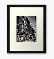 Calle Mayor Framed Print