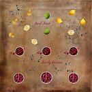 Berries And Fruit by hurmerinta