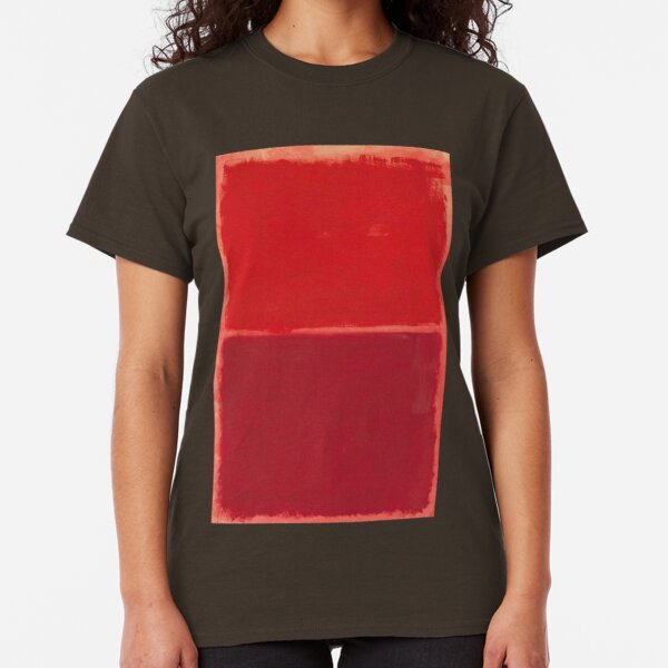 Mark Rothko - Red Painting (Abstract Expressionist Painting / Art) Classic T-Shirt