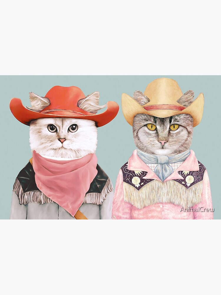 Cowboy Cats by AnimalCrew