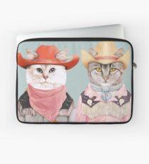 Cowboy Cats Laptop Sleeve