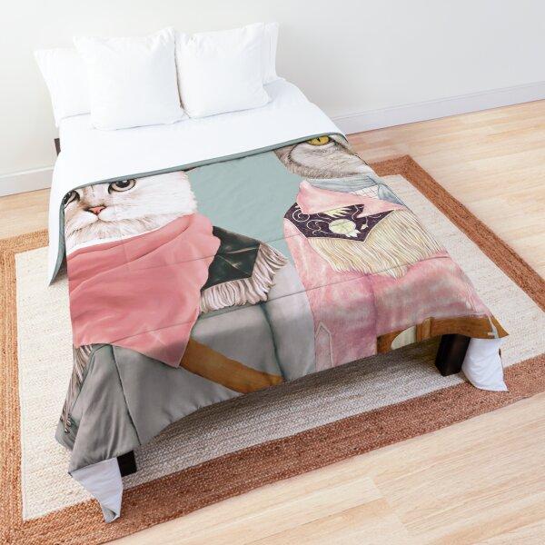 Cowboy Cats Comforter