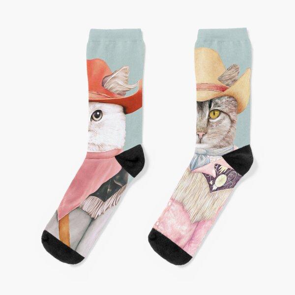 Cowboy Cats Socks