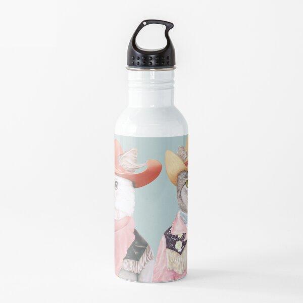 Cowboy Cats Water Bottle