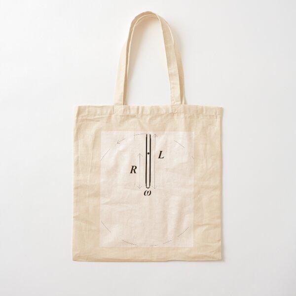 #Physics, #Problem, #Exercise, #Diagram, text, line art, znamenski, illustration, instrument, vector, design, symbol, art Cotton Tote Bag