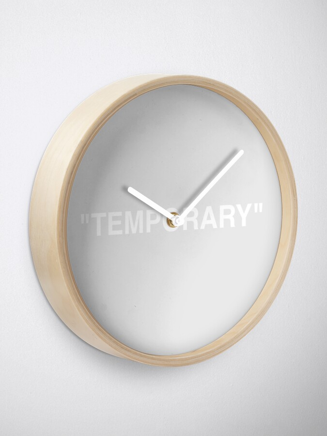 Alternate view of TEMPORARY OFF IKEA CLOCK Clock