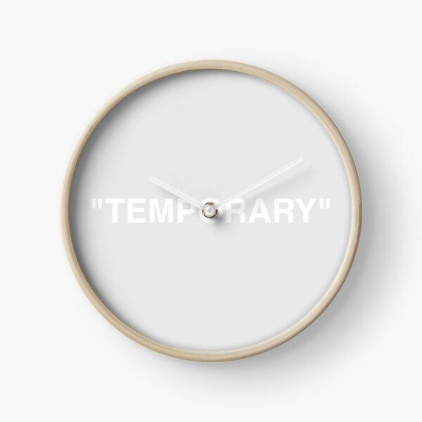 HORLOGE TEMPORAIRE GRIS Horloge