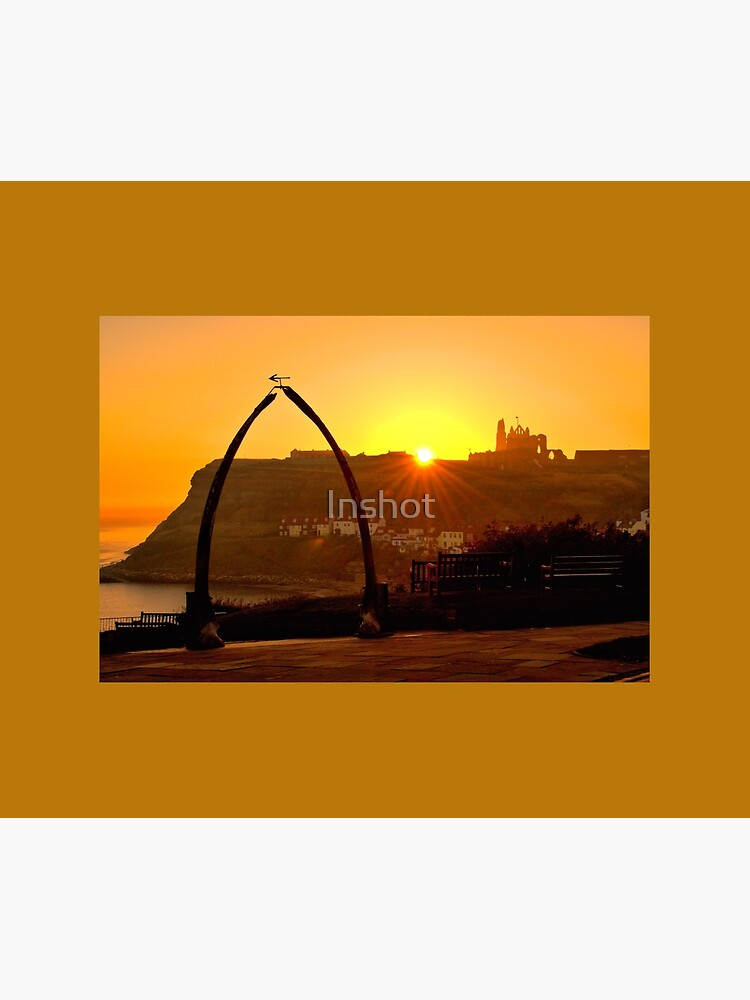 Beautiful Golden Sunrise in Whitby  by Inshot