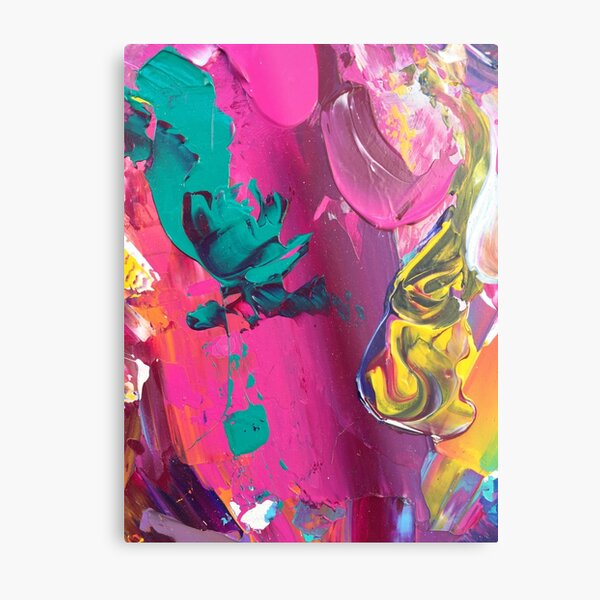 Colour Dance Metal Print