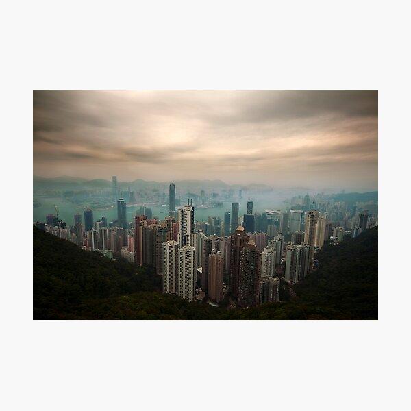 Hong Kong & Kowloon Photographic Print