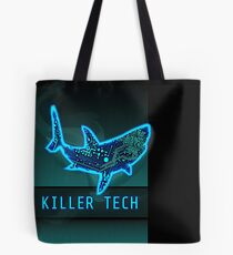 Killer Tech - Circuit board Shark Tote Bag