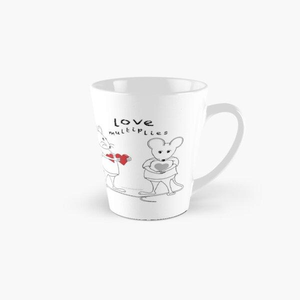 MantraMouse® Love Multiplies Cartoon Tall Mug