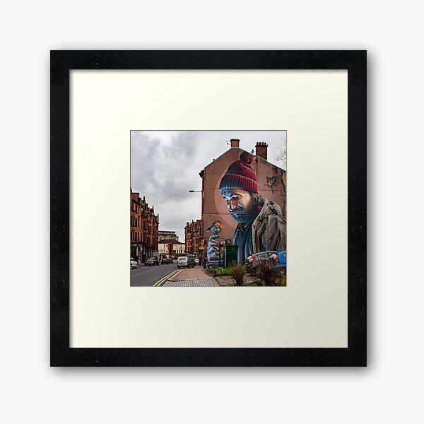 St Mungo Street Art, Glasgow Framed Art Print