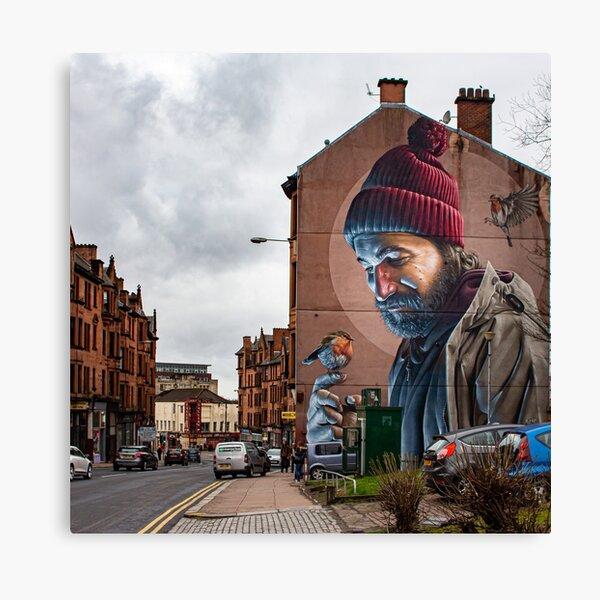 St Mungo Street Art, Glasgow Canvas Print
