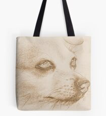Bee Bee Drawing paintshop edit Tote Bag