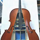 Displaced Cello 3. by Andy Nawroski