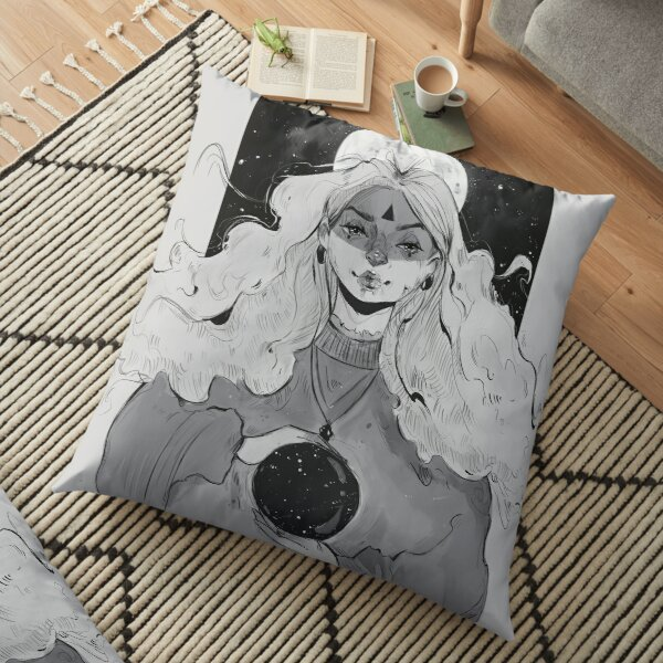 Space Witch Floor Pillow