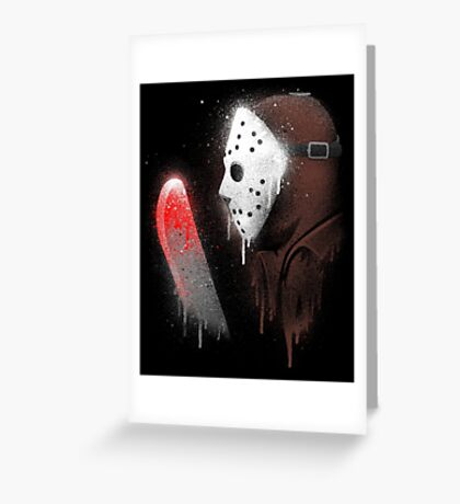 Your Friends Are Dead Greeting Card