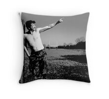Check It Out! Throw Pillow