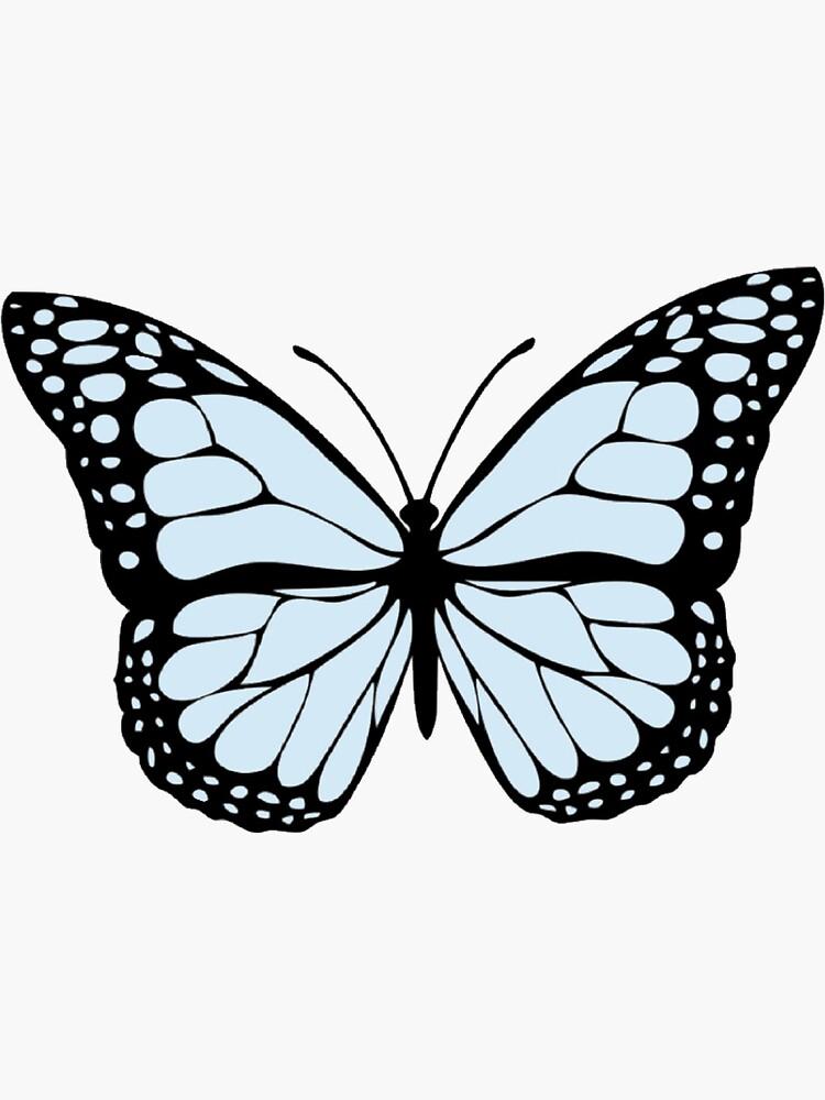Blue Butterfly by MaddieMJF