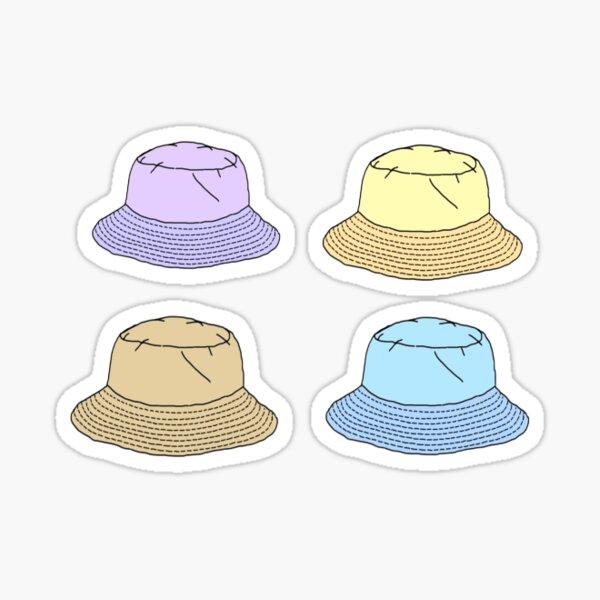 Eimer-Hüte Sticker