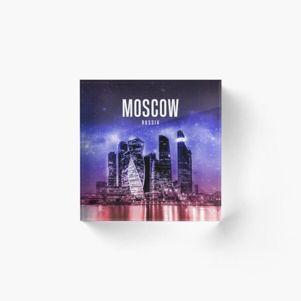 Moscow - Russia Acrylic Block