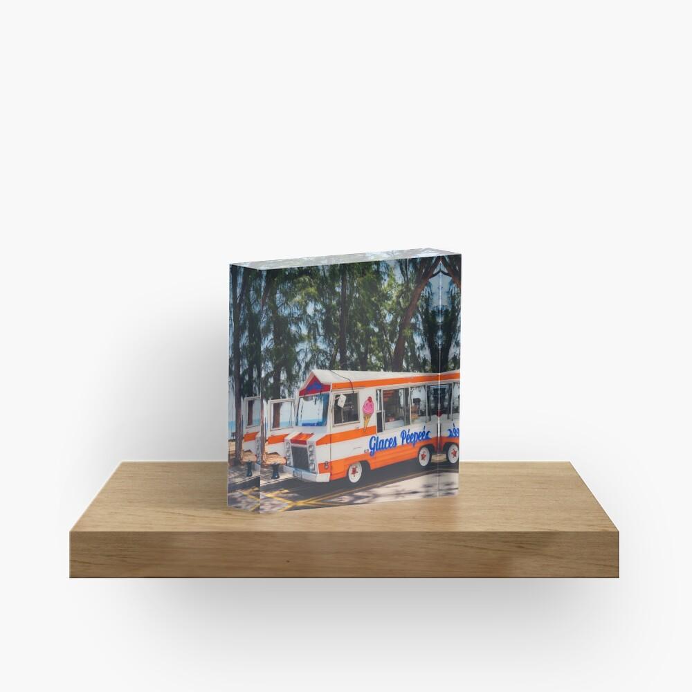 Bloc acrylique «LA REUNION»