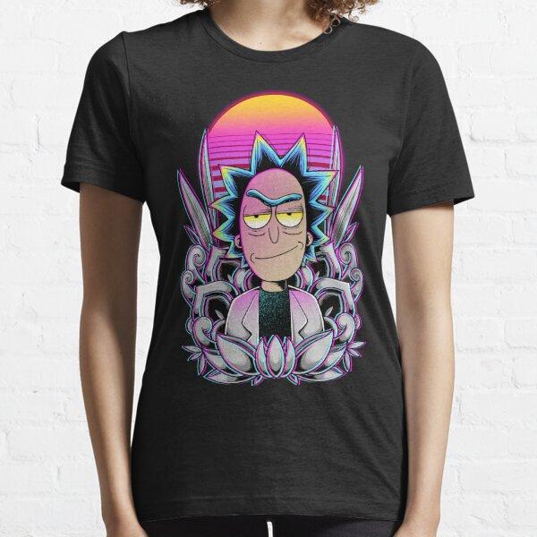Synthwave Rick Sanchez Essential T-Shirt