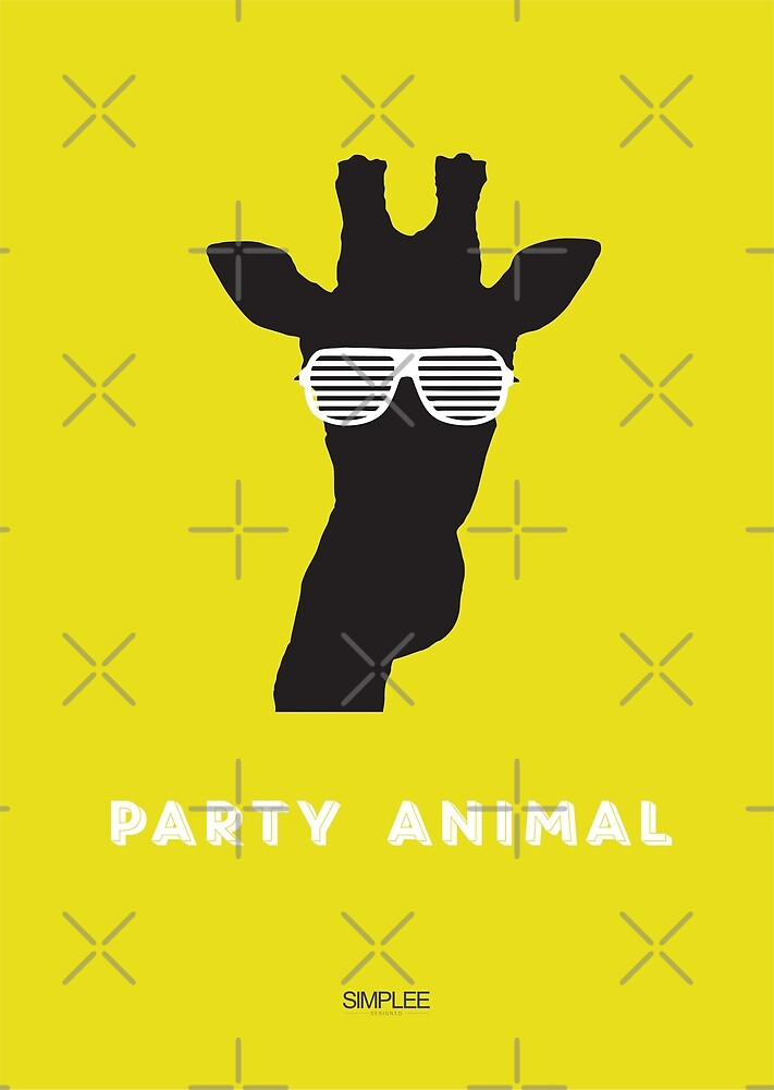 Simplee Cards: Party Animal 3 of 3 by SimpleeShop