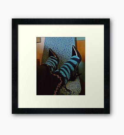 03-19-11: Shoes & Socks Framed Print