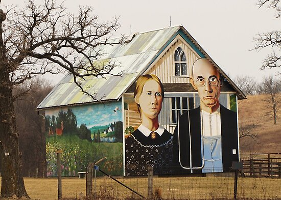 An American Gothic by lorilee