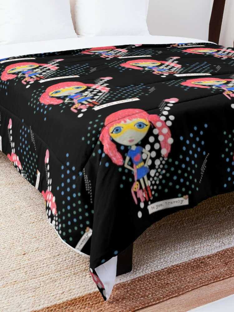 Alternate view of Be Your Own Superhero Comforter