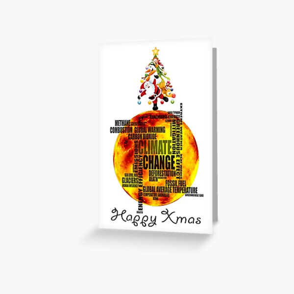Happy Christmas Greeting Card