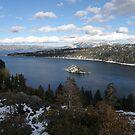 Emerald Bay & Fannette Island by Patty Boyte