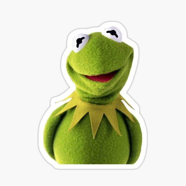 Happy Kermit Sticker