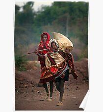 Off to Market in Bahir Dah Poster