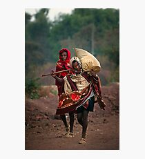 Off to Market in Bahir Dah Photographic Print
