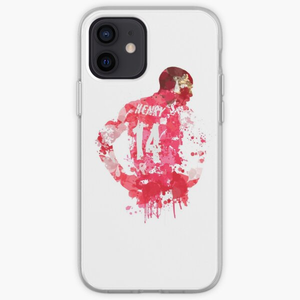 Thierry Henry Arsenal Legend Art iPhone Soft Case