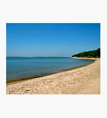 Shore of Lake Texoma Photographic Print