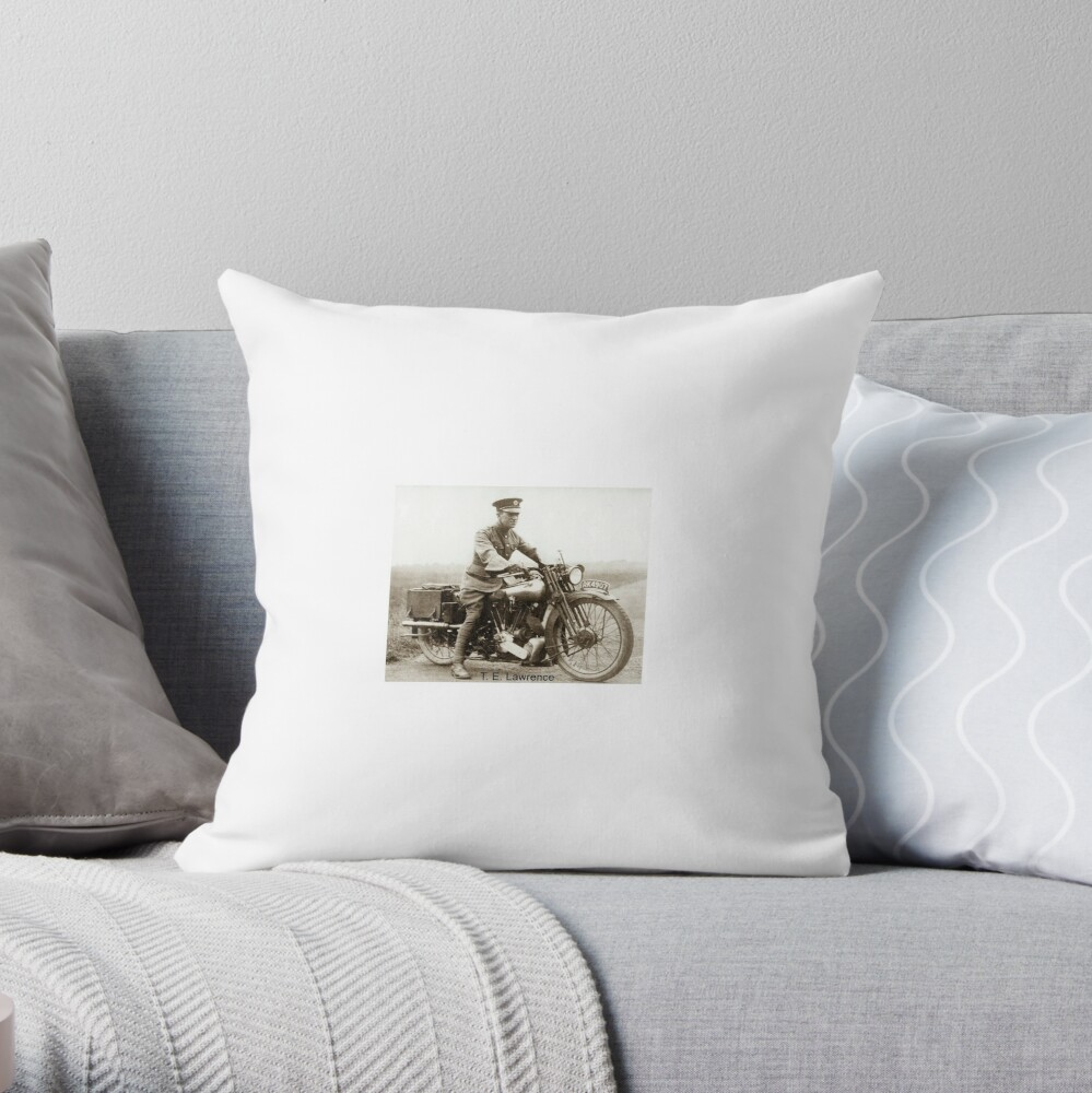 T.E.Lawrence (Lawrence of Arabia) Throw Pillow