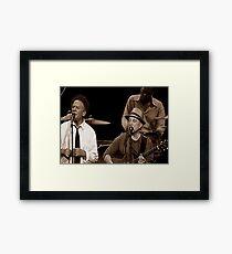 Simon & Garfunkel Live In  Concert Framed Print