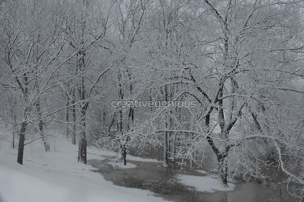 marshmallow world in the winter by creativegenious