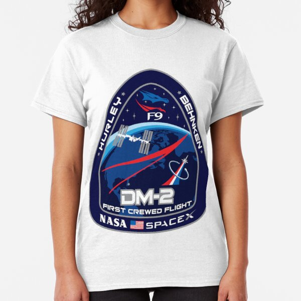 Crew Dragon Flight Demo 2 Classic T-Shirt