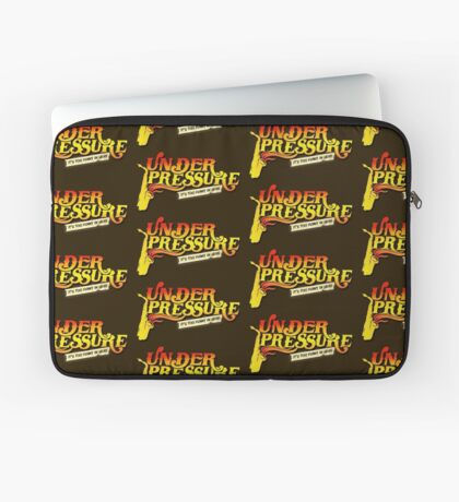 Under Pressure Logo Laptop Sleeve
