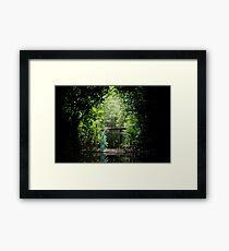 Japanese Serenity Garden Framed Print