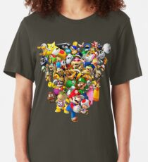 Mario Bros - All Star Slim Fit T-Shirt