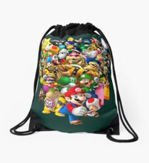 Mario Bros - All Star Drawstring Bag